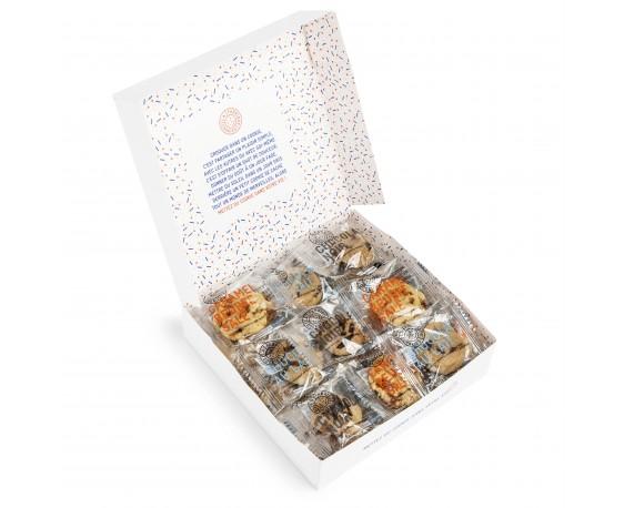 Boîte de petits cookies